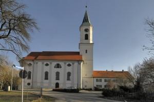 Wallfahrtskirche und Pfarrhaus