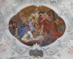 Decke Chor - Krönung Mariens