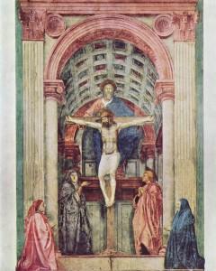 Dreifaltigkeit (Masaccio, Florenz)